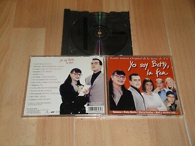 Yo Soy Betty La Fea Music Cd Banda Sonora De La Serie De Tv Original Soundtrack