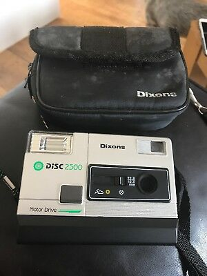 Dixons DISC2500 Camera With case