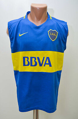 Boca Juniors Argentina 2000`s Home Football Shirt Jersey Nike Replica Xl Adult