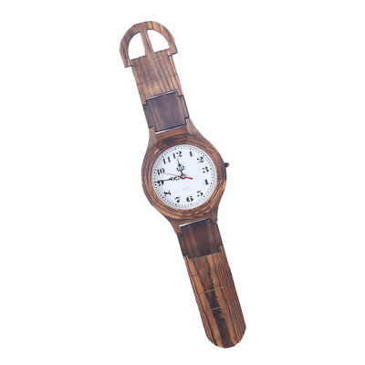 Antique Wooden Watch Wall Clock Decorative Wood Wall Clock Home Collection_S