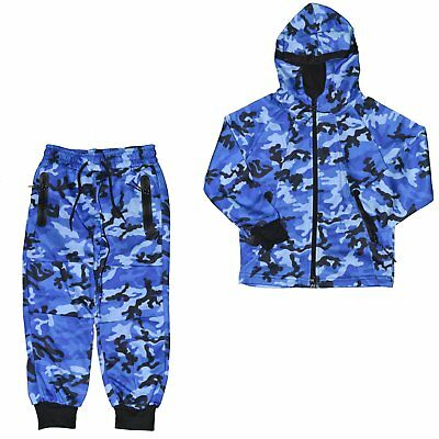 Closeout  Ensemble Complet Jogging  Enfant  Kids Ensemble Camo J275  C Ne Grade