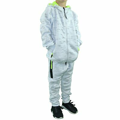 Closeout  Ensemble Complet Jogging  Enfant  Kids Ensemble Bl07  Blanc  Ne Grade