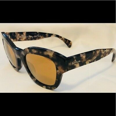 dabe9d0829422 NEW PAUL SMITH PM8252 Dennett Sunglasses Brown Marble -  225.00 ...