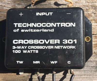 Frequenzweiche Technocontron - Crossover 301 - 3 Wege - 100 Watt