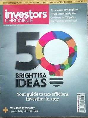 Investors Chronicle 3rd March - 9th March 2017 - 50 Bright ISA Ideas