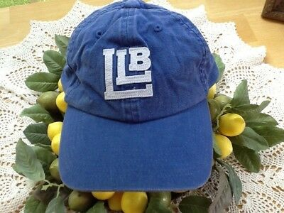 abaf32771f7ac LL Bean Blue Denim Embroidered Hat NWOT