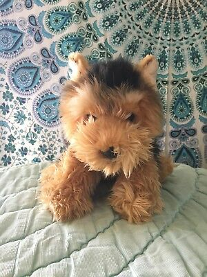 Ganz Webkinz Signature Short Haired Yorkie Dog Puppy Gold Stuffed