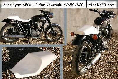 Seat type APOLLO for Kawasaki W650/800 - Track - Cafe Racer