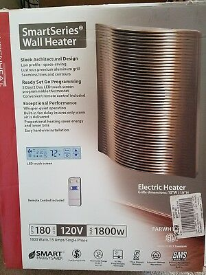 Fahrenheat  SmartSeries Architectural Digital Wall Heater model FARWH1802BZ