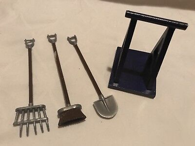 Breyer Horse Accessories Plastic Tools And Wooden Jumping Accessory