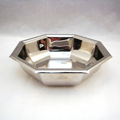 """Jean Couzon Orfevre France Stainless Steel OCTAGON/OCTAGONAL Bowl 5 1/2"""""""