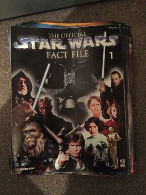 The Official Star Wars Fact File Complete Collection