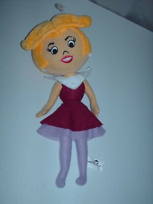 "Jetsons Hanna Barbera Jane Jetson Wife Stuffed 14"" Plush Soft Doll"