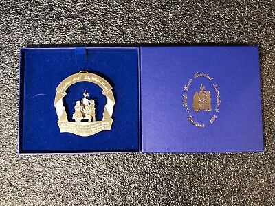 1988 White House Historical Association Christmas Holiday Ornament