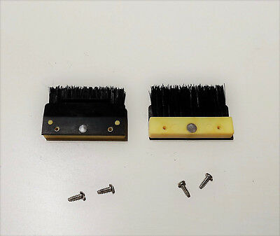 2 Petites Brosses Chariot Arriere Machine A Tricoter Passap Duomatic 80, Sd...
