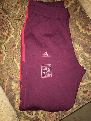 3ca3aeced57d7 ADIDAS KANYE WEST Yeezy Calabasas Sweatpants Size Small Maroon ...