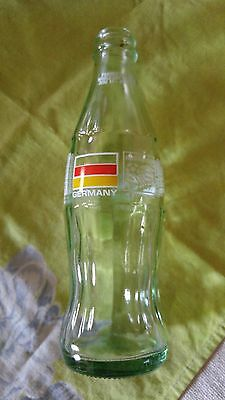 Vintage Coke Coca-Cola Classic bottle 1986 1991 USA World Cup 1994 Germany