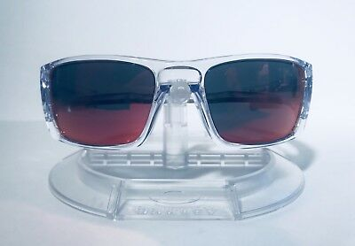 f706d015ff New Oakley OO9096-H660 Fuel Cell Sunglasses Polished Clear Frame Torch  Iridium