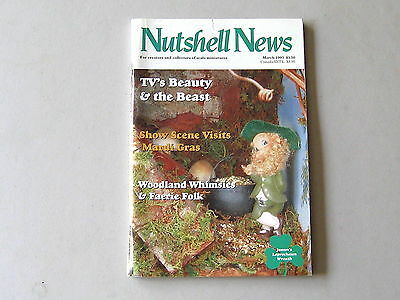 #2080 March 1993  Nutshell News Minatures Magazine For Creators & Collectors
