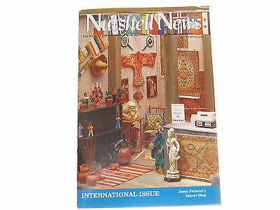 #2042 1992 March  Nutshell News Minatures Magazine For Creators & Collectors
