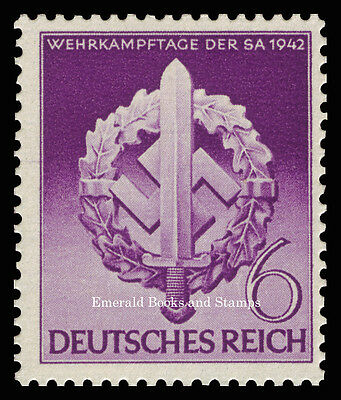 EBS Germany 1942 War Effort Day of the Storm Troopers Michel 818 MNH**