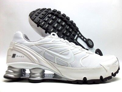 039120dd04e NIKE SHOX TURBO Vi Id White metallic Silver Size Men s 11.5  898287 ...