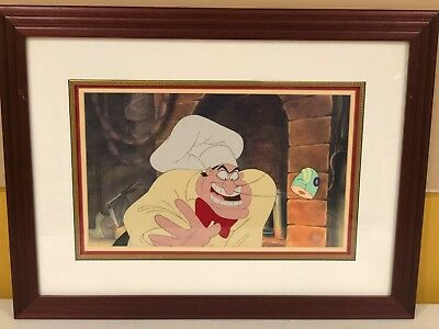 "Disney original production cel of the Chef from ""The Little Mermaid"""