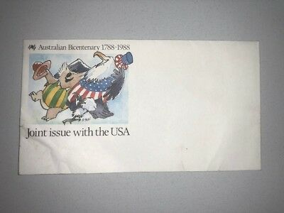 Australian Bicentenary Joint Issue with the USA Vintage Souvenir Single Envelope