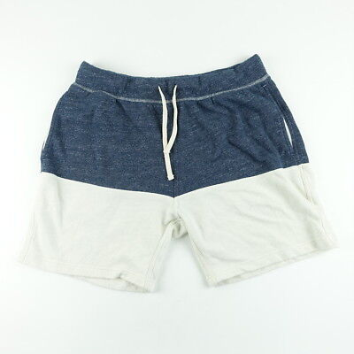 017e7de0b Chubbies Shorts Size L XL Mens Elastic Waist French Terry Colorblock Blue  White