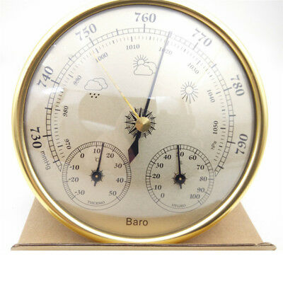 3IN1 High Precision Indoor Thermometer Hygrometer Psychrometer Weather Forecast