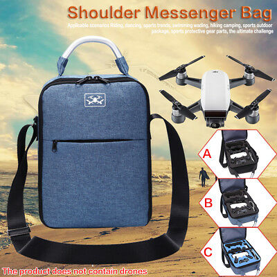 Waterproof Travel Storage Box Carrying Case Shoulder Bag For DJI Spark Drone
