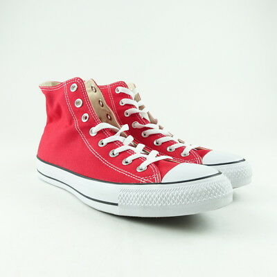 8385f3e7b59 Converse Chuck Taylor All Star Mens Size 11 Womens Size 13 High Top Candy  Red