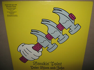 PETER BJORN AND JOHN Breakin' Point MINT FACTORY SEALED NEW Vinyl LP +Mp3? 2016