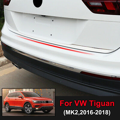 For VW Tiguan MK2 2016-2019 Chrome Rear Trunk Tailgate Door Lid Cover Trim Strip