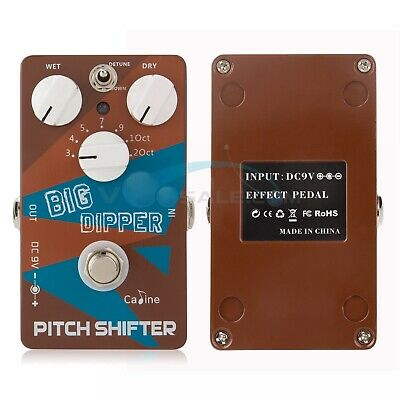 Caline CP-36 Guitar Effects Pedals Pitch Shifter Big Dipper Guitar Effects Parts