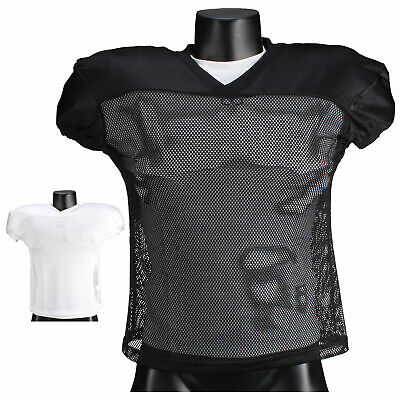 Full Force American Football Untouchable Practice Shirt I weiß I schwarz