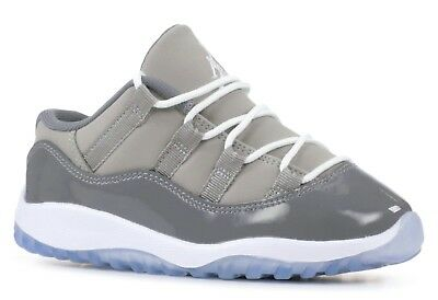 best cheap 08275 644d4 NIKE AIR JORDAN XI Retro 11 Low Cool Grey Toddler Infant 505836-003 US Size  7C