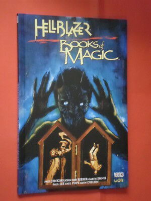 HELLBLAZER- JOHN CONSTANTINE- books of magic-garth ennis. VERTIGO RW LION -NUOVO