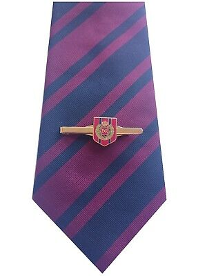 Royal Corps of Engineers Tie & Tie Clip Shield Set e025