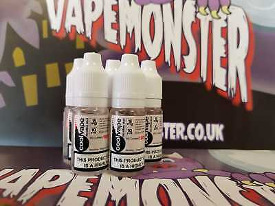 Nicotine Shot - 18mg 10ml High VG UK NIC SHOTS FREE P&P 80/20 70/30