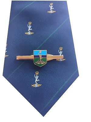 Royal Corps of Signals Tie & Tie Clip Shield Set p291
