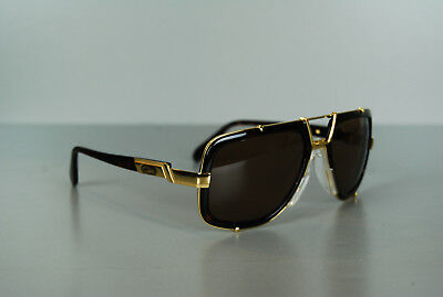 a6b090a8537  AUTHENTIC  CAZAL 656 Color 624SG Size 61 19 DARK AMBER MEN S SUNGLASS