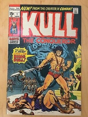 Kull the Conqueror #1 (1971) Marvel NM
