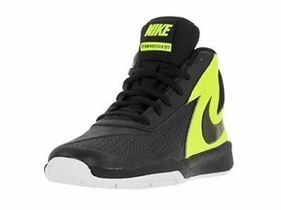 san francisco e35a4 bfb98 Nike Boys Team Hustle D7 (PS) Basketball Shoes SIZE 1Y Youth Black 747999‑