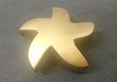 Small Gold Star Urn Grade ll For Pet Cat or Small Dog Ashes Cremation