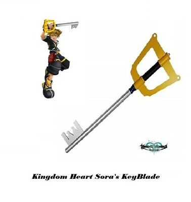 Kingdom of Hearts Sora's Keyblade To The City Sword Wooden Cosplay Prop 34""