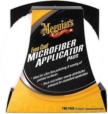 MEGUIAR'S MEGUIARS Even Coat Applicator Pads Microfaser Polierschwamm 2 Stk