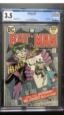 Batman #251 (classic Joker Cover)