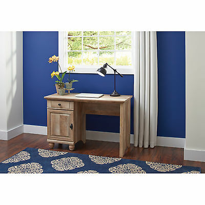 Rustic Office Desk Computer Writing Laptop Table Country Style Weathered Finish