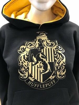 Harry Potter Hufflepuff House Kids Hoodie Personalised number